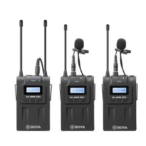 Boya By-wm8 Pro-k2 Uhf Wireless Mic 1+2