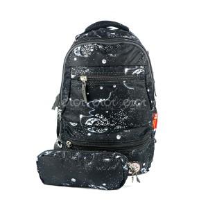 Majic 8084 16l Children Kindergarten Leisure School Backpack With Pouch