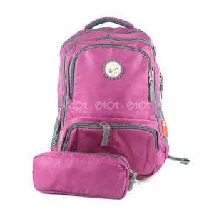 Majic 8025 16l Children Kindergarten Leisure School Backpack With Pouch