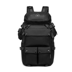 Ozuko 9279 Large Capacity Outdoor Hunting Ps5 Sneaker Custom Military Tactical Hiking Waterproof Travel Backpack (black)