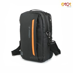 Urban Le 35-gb#00141 Moto Belt Sling Bags - Black