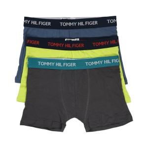 Men's Premium Essentials Classic Stylish And Comfortable Multicolor Cotton Boxer Underware- 3pcs Pack