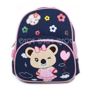 Beikeyang 893# 06 Series 12 Inch Kids School Backpack (navy Blue & Pink)
