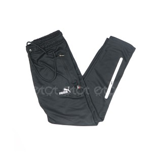 Exclusive Stylish And Fashionable Mesh Fabric Narrow Fit Trouser For Men (black)