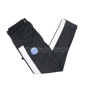 Paris Saint-germain 23 Stylish And Fashionable Mesh Fabric Narrow Fit Trouser For Men (black)