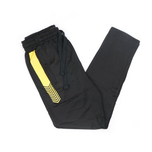 Exclusive Stylish And Fashionable China Interlock Fabric Narrow Fit Trouser For Men (black)