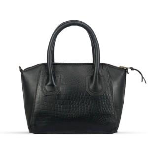 Corium Crm1001 Very Classy & Fashionable Ladies Hand Bag (black)