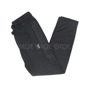 Exclusive Stylish And Fashionable China Interlock Fabric Slim Fit Trouser For Men (black)