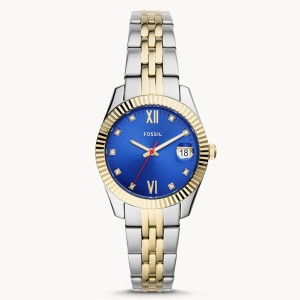 Fossil Es4899 Two-tone Stainless Steel Watch For Women