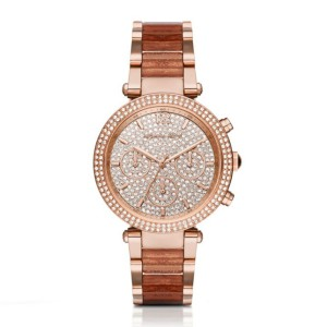 Michael Kors Mk6285 Rose Gold-tone Stainless Steel Watch For Women