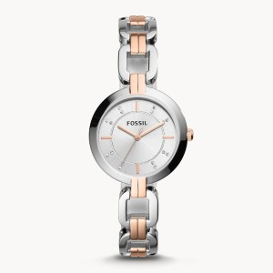 Fossil Bq3341 Two-tone Stainless Steel Watch