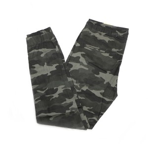 Stylish Fashionable And Comfortable Machine Wash Stretchable Slim Fit Camo Cargo Pant For Men (grey)