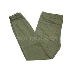 Stylish Fashionable And Comfortable Machine Wash Stretchable Regular Slim Fit Joggers For Men (olive)