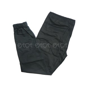 Stylish Fashionable And Comfortable Machine Wash Stretchable Regular Slim Fit Joggers For Men (black)