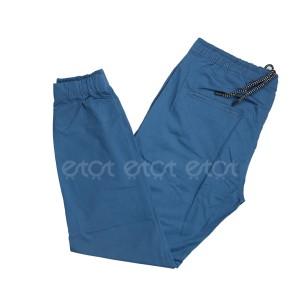 Stylish Fashionable And Comfortable Machine Wash Stretchable Regular Slim Fit Joggers For Men (indigo)